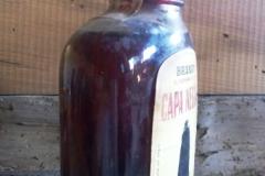Botella de Brandy El Hombre de la Capa Negra