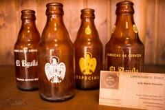 Botellas Cerveza El Aguila