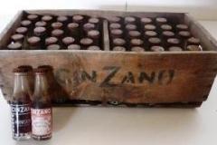 Botellas de Vermouth Cinzano