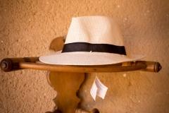 Perchero sombrerero torneado