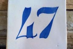 Placa cerámica Nº 47